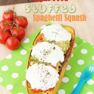 Super Food Stuffed Spaghetti Squash.