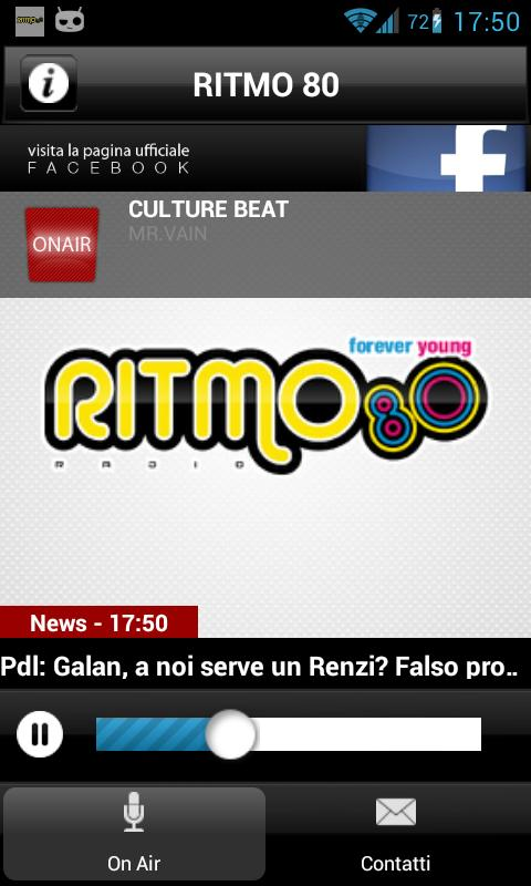 RITMO 80 - screenshot