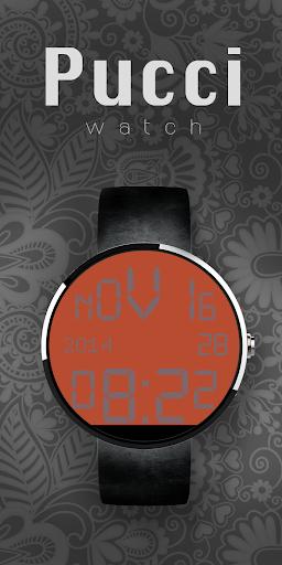Moto 360 Digital Red Grey