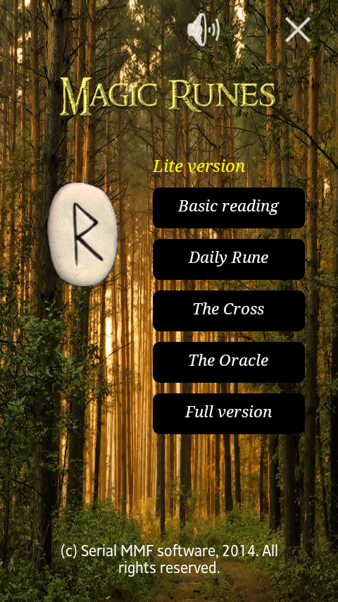 Future in Runes. Lite. - screenshot