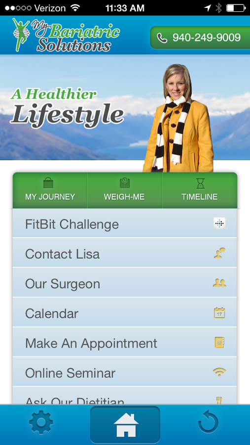 My Bariatric Solutions- screenshot