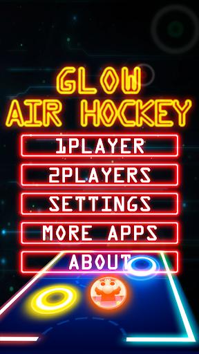 Glow Air Hockey M