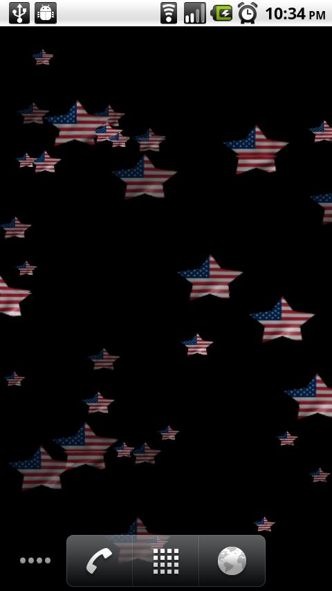 Stars and Stripes Wallpaper - screenshot