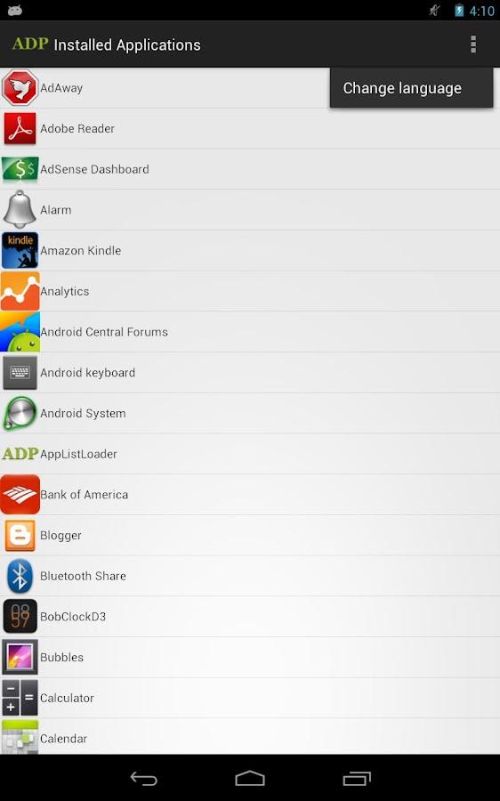 AppListLoader- screenshot
