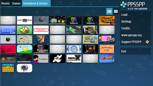 PPSSPP - PSP Emulator APK screenshot thumbnail 3