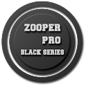 Zooper Black Series Clock