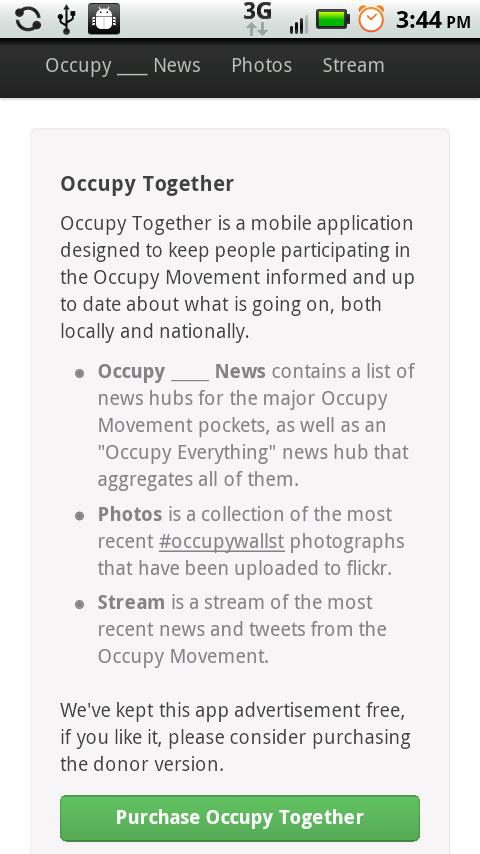 Occupy Everything- screenshot