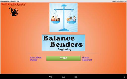 Balance Benders™ Beg Free