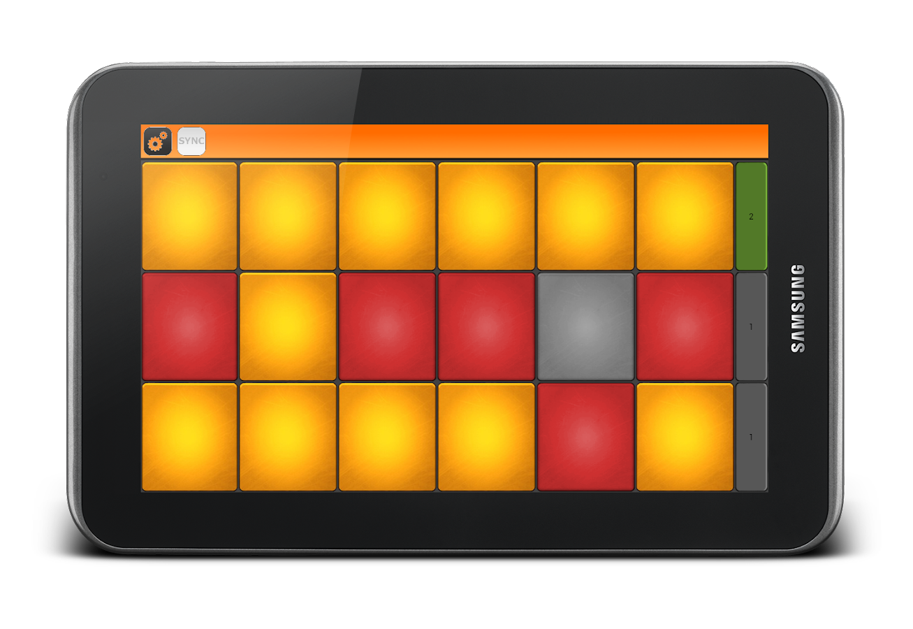 NanoLaunchpad- Drum pad - screenshot