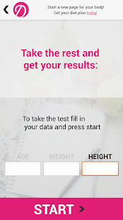 Weight Loss Test Calculator