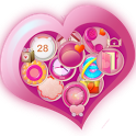 PrettyGirl Go Launcher Ex Them icon