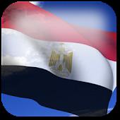 3D Egypt Flag Live Wallpaper +