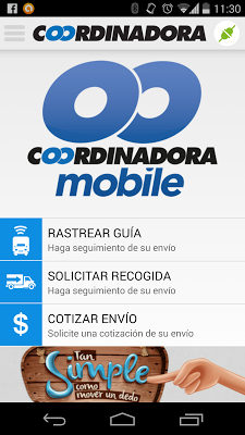 Coordinadora Mobile - screenshot