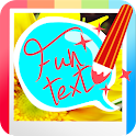 Funtext: Text Now on Photo icon