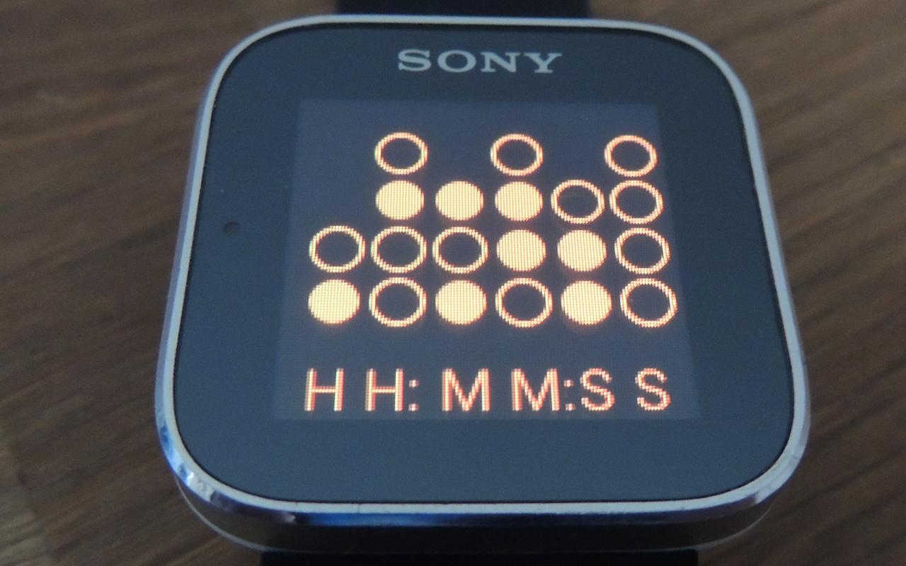 Binary SmartWatch 2 - screenshot