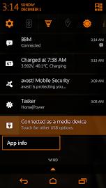 Tangerine CM11 AOKP Theme Screenshot 2