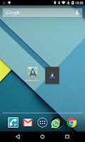 Screenshot of Bluetooth GPS Output