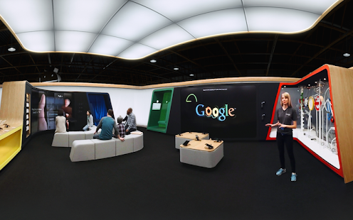 Google Shop at Currys VR Tour Screenshot 1