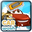 Car Wash Paint Design Mechanic icon