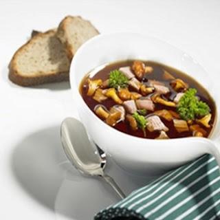 Mushroom Pot Roast Soup