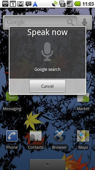 Voice Search screenshot for Android