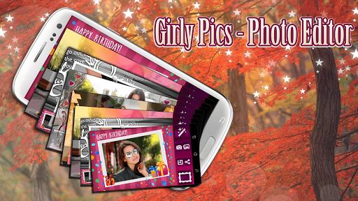 Girly Pics - Photo Editor