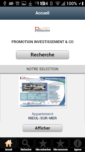 Agence Prominvest Immobilier
