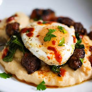 Polenta Skillet Eggs