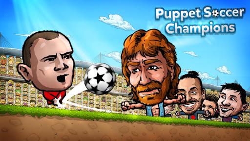 【免費體育競技App】Puppet Soccer Champions - 2014-APP點子