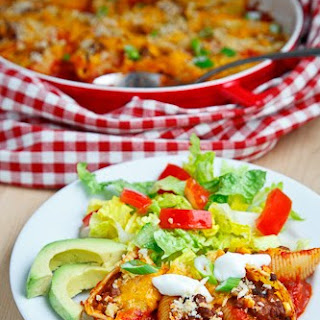 Taco Stuffed Shells.
