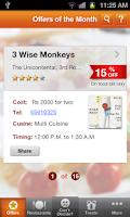 Screenshot of Culinary Treats