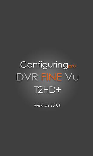 FineVu T2HD+ configuring PRO