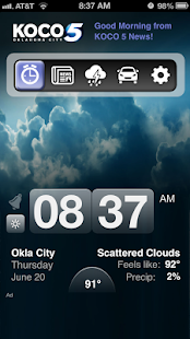 Alarm Clock KOCO 5 Okla City - screenshot thumbnail