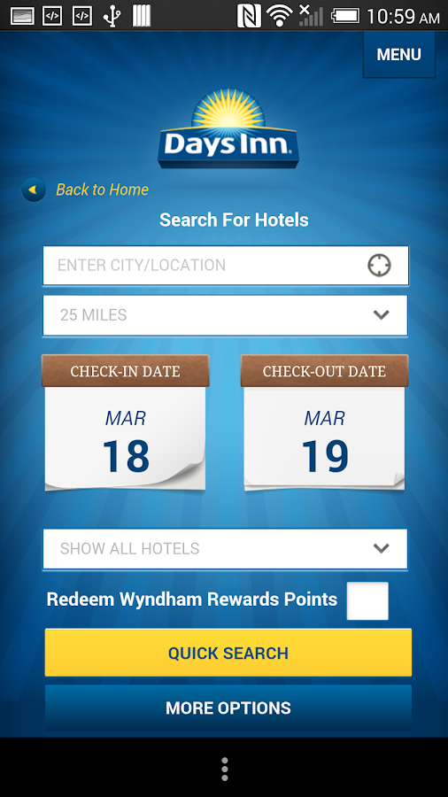 Days Inn - screenshot