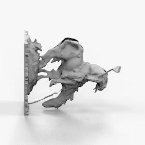 Artistic Warrior Trail SCulpture 3D Print