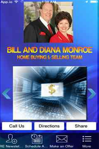 Bill and Diana