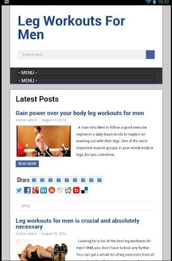 【免費健康App】Leg Workouts For Men-APP點子