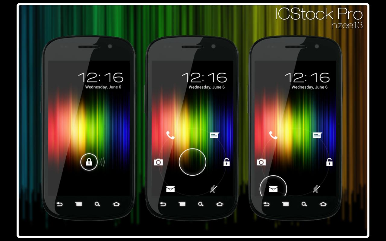 ICStock Pro - MagicLockerTheme - screenshot