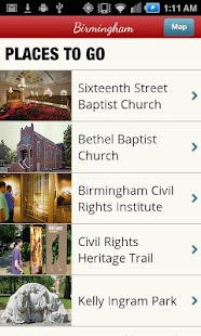 Alabama Civil Rights Trail - screenshot thumbnail