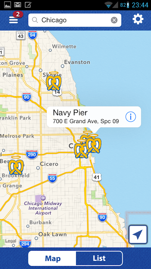 Auntie Anne's Pretzel Perks - screenshot