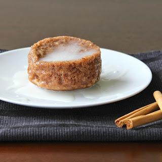 Cinnamon Bun Mug Cake