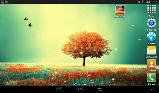 Awesome-Land Live wallpaper HD : Plant a Tree !! – уменьшенный скриншот