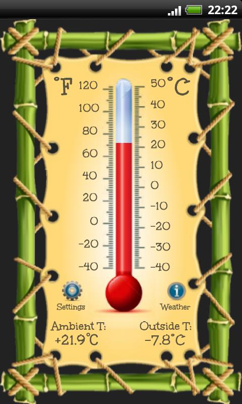 Thermometer- screenshot