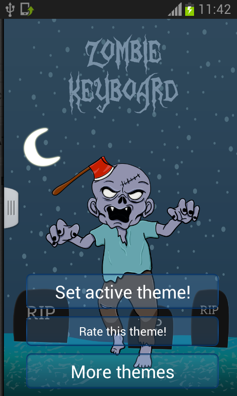 Zombie Keyboard - screenshot