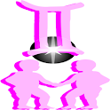 Gemini Pink Live Wallpaper logo