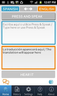 AT&T Translator - screenshot thumbnail