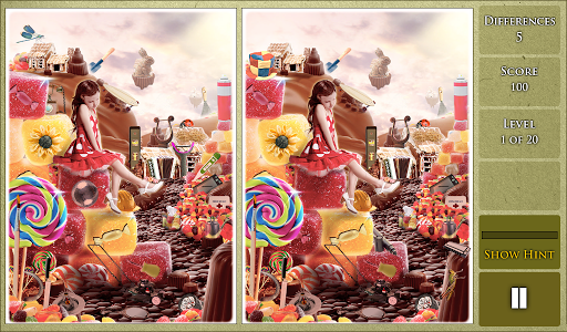 Hidden Difference - Candyland