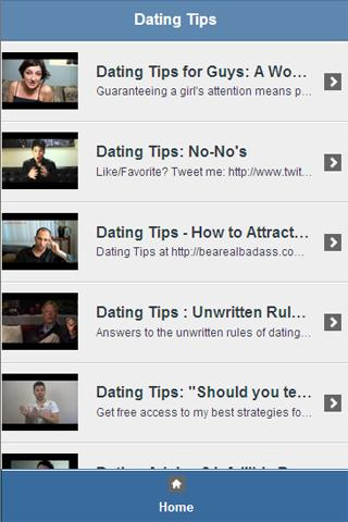 Dating Tips Video