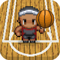 Basketball fun spin game icon