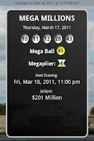 Screenshot of New York Lottery Results